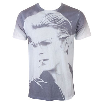 T-shirt Men's David Bowie - Wild Profile - White - ROCK OFF, ROCK OFF, David Bowie