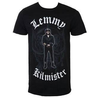 Men's T-shirt Lemmy Kilmister - Memorial Statue - Black - ROCK OFF, ROCK OFF, Motörhead