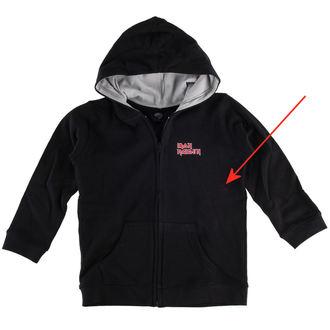 hoodie children's Iron Maiden - Logo - Metal-Kids - DAMAGED, Metal-Kids, Iron Maiden