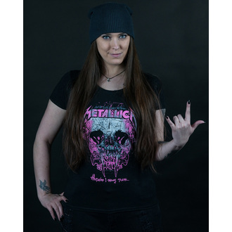 t-shirt metal women's Metallica - Wherever I May Roam - NNM - RTMTLGSBWHE