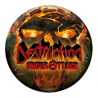 Badge DESTRUCTION - Under attack - NUCLEAR BLAST, NUCLEAR BLAST, Destruction