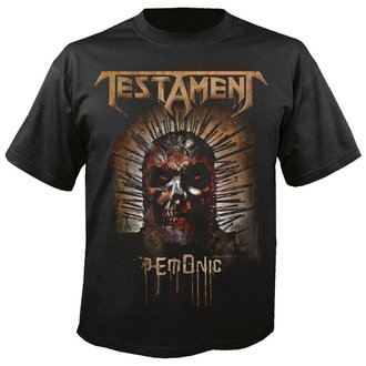 t-shirt metal men's Testament - Demonic 2017 - NUCLEAR BLAST, NUCLEAR BLAST, Testament