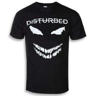 t-shirt metal men's Disturbed - Scary Face - ROCK OFF, ROCK OFF, Disturbed