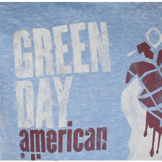 t-shirt metal men's Green Day - American Idiot - ROCK OFF - GDBO01MBL