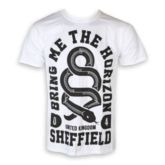 t-shirt metal men's Bring Me The Horizon - Snake Men - ROCK OFF - BMTHTS20MW
