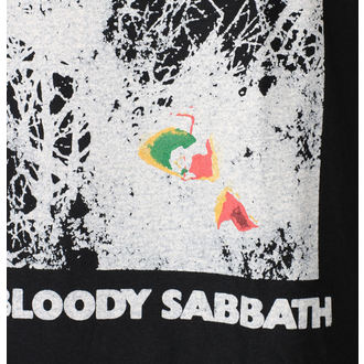 t-shirt metal men's Black Sabbath - Black - ROCK OFF, ROCK OFF, Black Sabbath