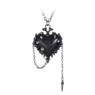 Pendant necklace ALCHEMY GOTHIC - Witches Heart, ALCHEMY GOTHIC