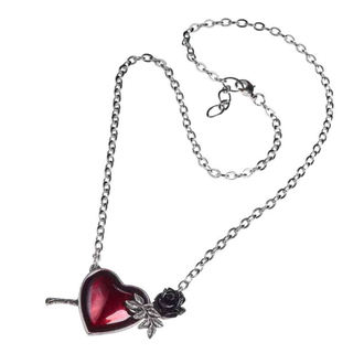 Necklace ALCHEMY GOTHIC - Wounded By Love, ALCHEMY GOTHIC