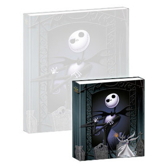 playing notebook Nightmare Before Christmas - Musical Mini-Notebook Jack & Zero - NBX27005