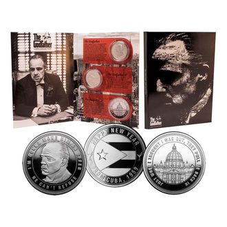 Coins (set) The Godfather, NNM, Kmotr