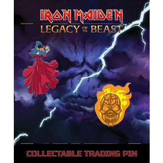 Tacks Iron Maiden - Legacy of the Beast - Clairvoyant & Wicker Man, Iron Maiden