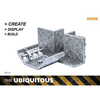 decoration (diorama) Ubiquitous Diorama Case for Action Figures Standard Edition