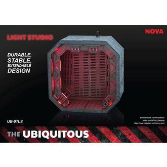 Decoratiom (Diorama) Ubiquitous Diorama Case with Lighting for Action Figures LS Edition
