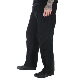 pants men M65 Pant NyCo washed - Black - 200201