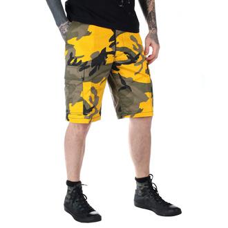 shorts men US BDU - YELLOW-CAM - 200800_YELLOW-CAM