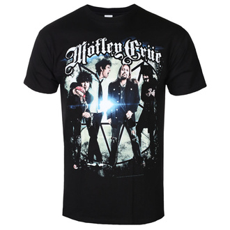 t-shirt metal men's Mötley Crüe - Group Photo - ROCK OFF - MOTTEE04MB