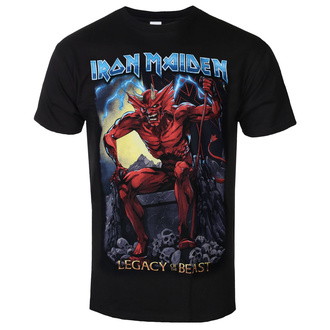t-shirt metal men's Iron Maiden - Legacy of the Beast 2 Devil - ROCK OFF - IMTEE88MB