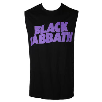 Men's tank top BLACK SABBATH - PURPLE LGO - BRAVADO, BRAVADO, Black Sabbath