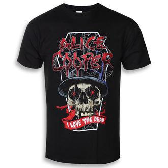 t-shirt metal men's Alice Cooper - Love The Dead (Dec) - ROCK OFF, ROCK OFF, Alice Cooper