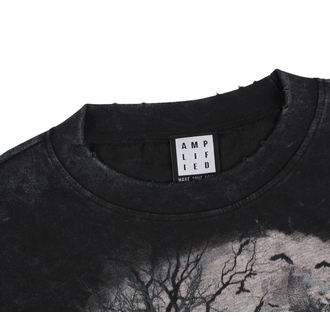 t-shirt men's Rise Of The Wolf - BLK - AMPLIFIED, AMPLIFIED