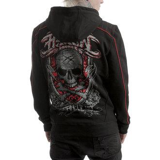 hoodie men's - BORN DEAD - HYRAW