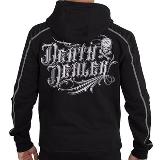 hoodie men's - DEATH DEALER GRIS - HYRAW, HYRAW