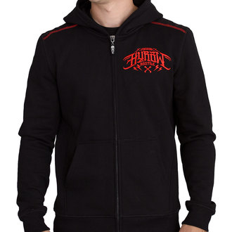 hoodie men's - DEATH DEALER ROUGE - HYRAW, HYRAW