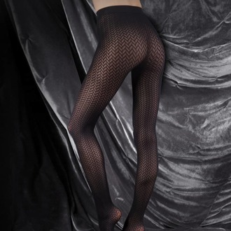tights LEGWEAR - couture ultimates - the catherine - black, LEGWEAR