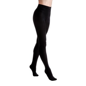 Tights LEGWEAR - Fashion velvet fleece lined - Black, LEGWEAR