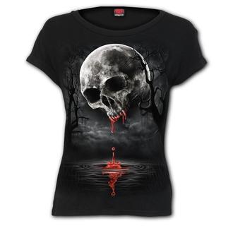 t-shirt women's - DEATH MOON - SPIRAL - D086F744